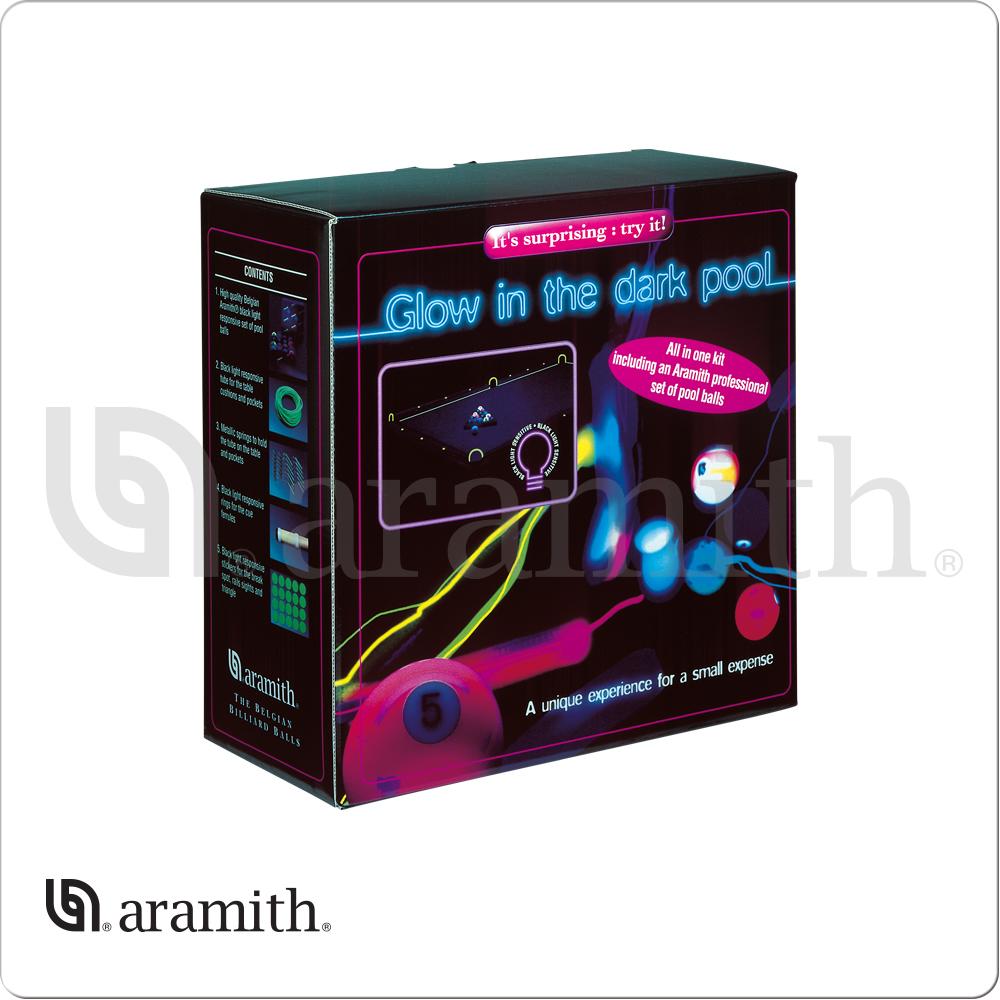 Aramith BBNEO Glow In The Dark Ball Set