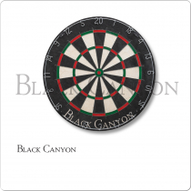 Black Canyon 30-0155 Bristle Dart Board With Bladed Wire