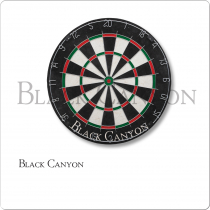 Black Canyon 30-0255 Bristle Dart Board With Round Wire