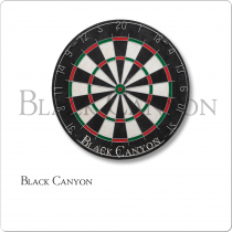 Black Canyon 30-0355 Bristle Dart Board With Diamond Wire