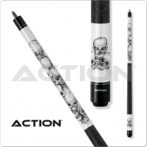 Action Adventure ADV60 Stacked Skulls Cue
