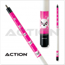 Action Adventure ADV83 Pink Skull Pool Cue
