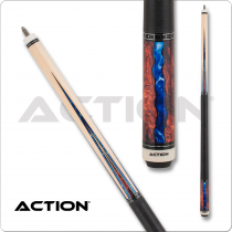 Action ACT152 Fractal - Maple w/ Burl & Blue Points