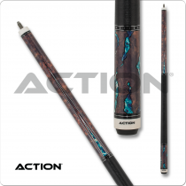 Action ACT154 Fractal - Walnut w/ Aqua
