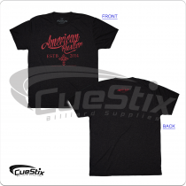 American AHS02 Hustler Men's Charcoal T-Shirt
