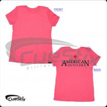 American AHS03 Hustler Ladies Pink T-Shirt