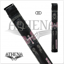 Athena ATHC06 2x2 Hard Embroidered Cue Case