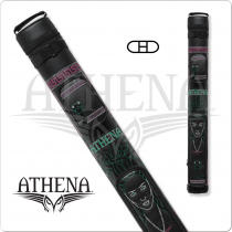Athena ATHC07 2x2 Hard Embroidered Cue Case