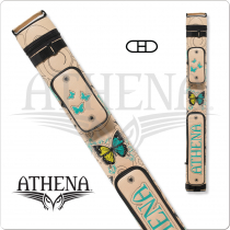 Athena ATHC09 2x2 Hard Embroidered Cue Case