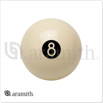 Aramith BB8BW White Eight Ball