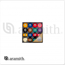 Aramith BBABK Black Ball set