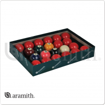 "Aramith BBANS2.125 Premier 2 1/8"" Numbered Snooker Set"