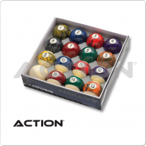 Action BBBM Black Marble Ball Set