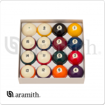 Aramith BBCBVM Crown Standard with Tounament Magnetic Cue Ball