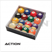 Action BBSTD Standard Pool Ball Set