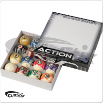 Action BBWM White Marble Ball Set