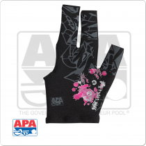 "APA ""Shoot Like A Girl"" BGLAPA02 Billiard Glove - Bridge Hand Left"