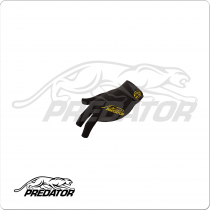 Predator BGLPY  Second Skin Black & Yellow - Bridge Hand Left XXL