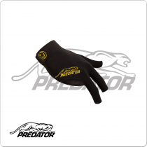 Predator BGRPY     S/M Second Skin Black & Yellow - Bridge Hand Right S/M