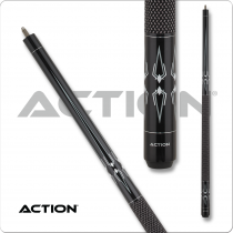 Action BW24 Black & White Pool Cue