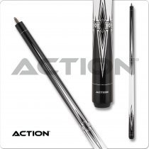 Action BW25 Black & White Pool Cue