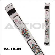 Action Calavera CALC22D 2x2 Stitch Hard Cue Case