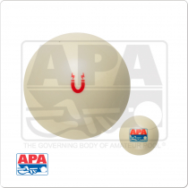 APA CBAPAM Magnetic Cue Ball