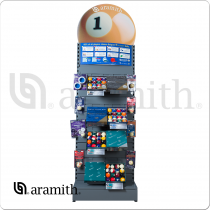 Aramith Display DISPLAYARA with Ball sets