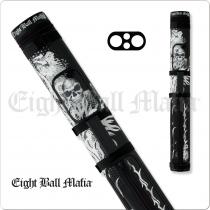 Action Eight Ball Mafia EBMC22A 2x2 Hard Cue Case