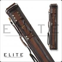 Elite ECC24 2x4 Classic Leather Hard Cue Case