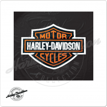 Harley Davidson HDTCV Vinyl 8 Foot Table Cover