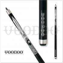 Voodoo Black & White VOD10 White Widow Pool Cue