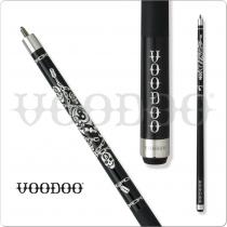 Voodoo Black & White VOD18 Razor Gang Pool Cue