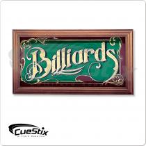 NIMBS Mirrored Billiards Sign