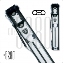 5280 RM24 2x4 Leather Hard Cue Case - White