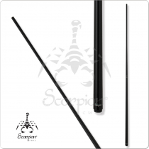 Scorpion SCOOP01 Black One Piece Cue