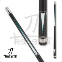 Katana KAT17- Black w/ Green & White Points