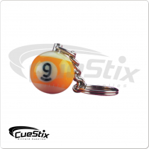 9 Ball NI9BK1 Key Chain Single