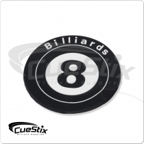 Rubber 8-Ball NICR01 Coaster