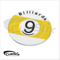 Rubber 9-Ball NICR02 Coaster