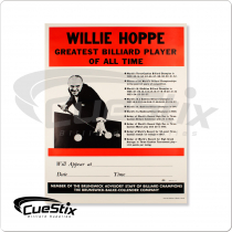 Poster NIP13 - Red Willie Hoppe