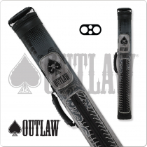 Outlaw OLB22B 2x2 Grey Tire Tread Hard Cue Case