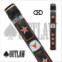 Outlaw OLB22C 2x2 Stitch Eagle Hard Cue Case