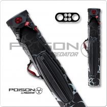 Poison Armor POC02 2x4 Hard Cue Case