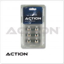 Action QT6SCT Screw On Tips - 12mm - Blister Pack of 6