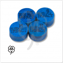 Navigator Blue Impact Pool Cue Tip - Single