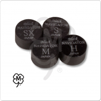 Navigator Black Pool Cue Tip - Single