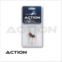 Action QTSCFT Screw On Cue Tips & Ferrules - Blister Pack of 5