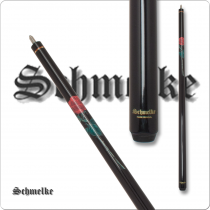 Schmelke SCHM12 Black with Red Roses Pool Cue