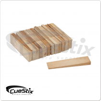 Hardwood Table Shims TPWS25 Set of 25